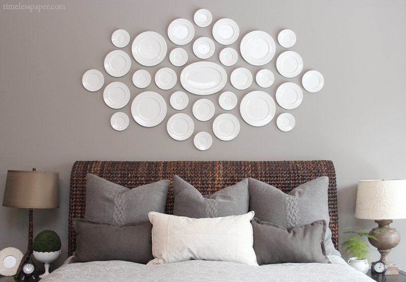 & Plate-Stand.co.uk - Wall Art Photo Gallery - Using Plates \u0026 Tiles