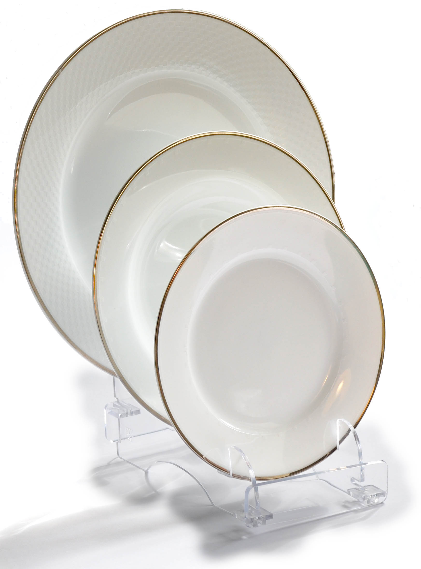 Plate-Stand.co.uk - Products - Dinnerware Service Setting Display Stands